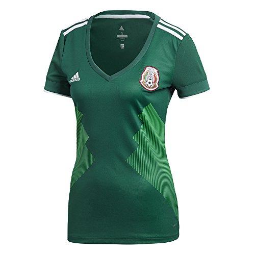 adidas Women's Mexico Replica Home Green 2017/18 (L)