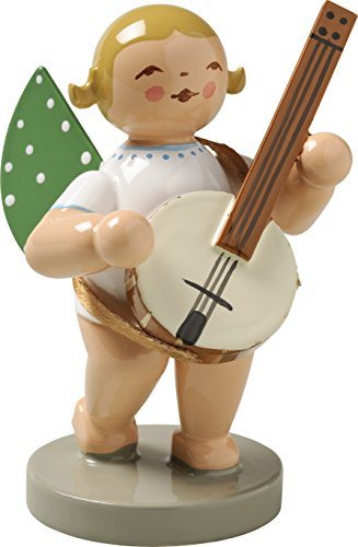 Wendt & Kühn Engel mit Banjo Größe 5-6 cm