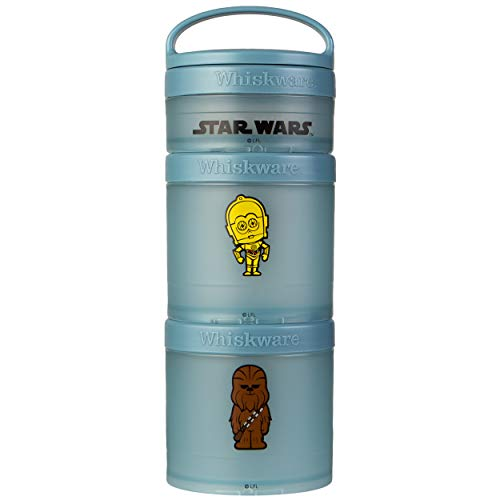 Whiskware Star Wars Stackable Snack Pack, C-3PO & Chewbacca