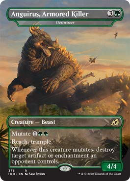 Magic: The Gathering - Anguirus, Armored Killer - Gemrazer - Ikoria: Lair of Behemoths