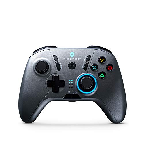 ThundeRobot Wired Gaming Controller,Gamepad G30 USB Wired PC Joystick Gamepad with Customized Buttons, Dual Vibration Motors, Ergonomic Laptop Game Controller for PC with Windows Vista/7/8/8.1/10