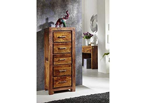MASSIVMOEBEL24.DE Sheesham Möbel Holz massiv Kommode Palisander Life Honey Massivmöbel Metro Life #120