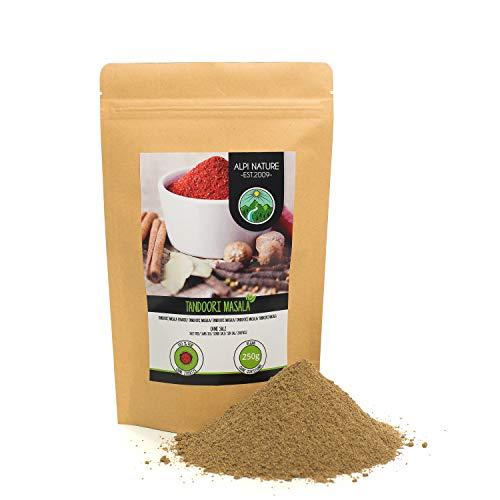 Tandoori Masala (250g), Mezcla de especias Tandoori Masala, mezcla de especias típicas de la India, empaque resellable