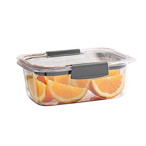 Contenedores de almacenamiento de alimentos, 920 ml saludables cajas de preparación de comidas con tapas herméticas, libre de BPA y a prueba de fugas, caja de almuerzo transparente para calefacción