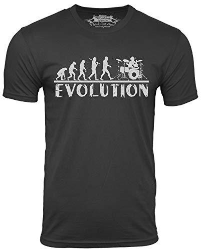 25. Drummer evolution t-shirt