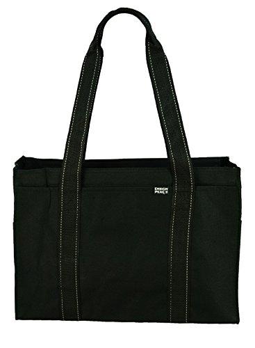 Poly cremallera Tote Bag