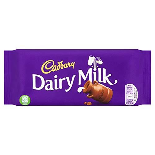 Cadbury Dairy Milk Chocolate Bar, 95 g