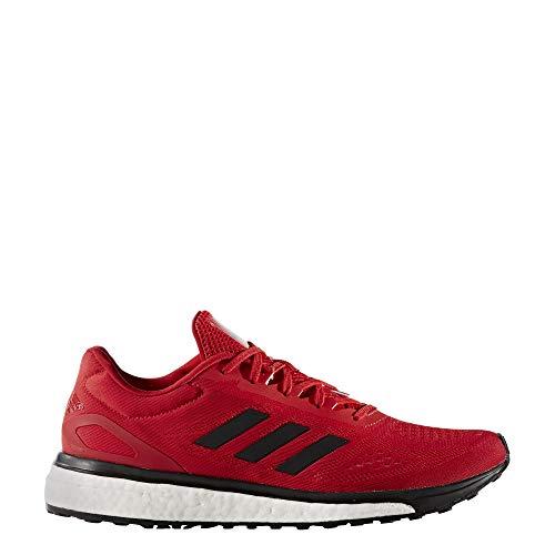 adidas Response Boost LT - Tenis de correr para hombre, (Escarlata-negro-plata Met), 48 EU