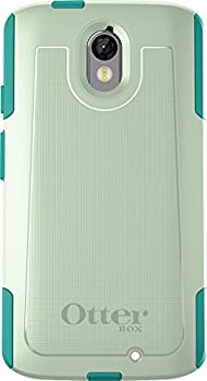 OtterBox COMMUTER Case for MOTOROLA DROID TURBO 2 - Retail Packaging - COOL MELON  SAGE GREEN/LIGHT TEAL