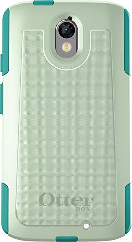 OtterBox COMMUTER Tasche für Motorola Droid Turbo 2 – Einzelhandelsverpackung – Cool Melon (Salbeigrün/Hellblau)