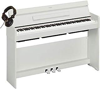 Pack Yamaha Arius YDP-S34 Blanco - Piano digital + casco