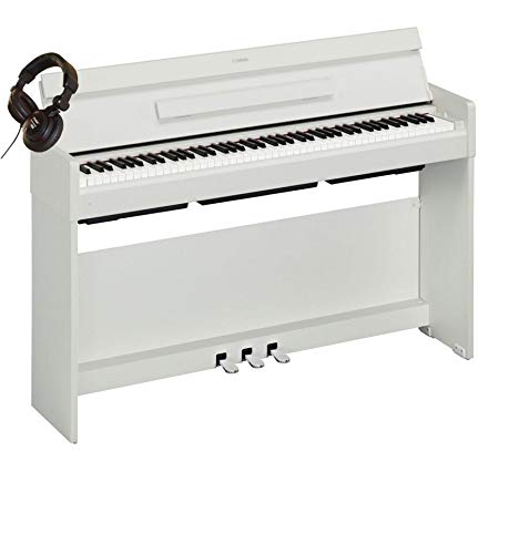 Pack Yamaha Arius YDP-S34 Blanco - Piano digital + casco