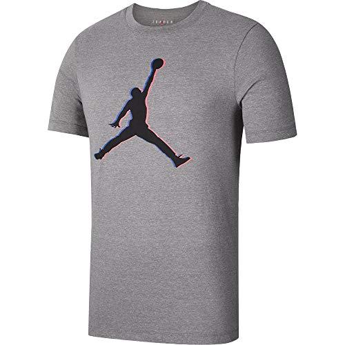 Nike M J Jumpman 23d Herren-T-Shirt S Kohle meliert