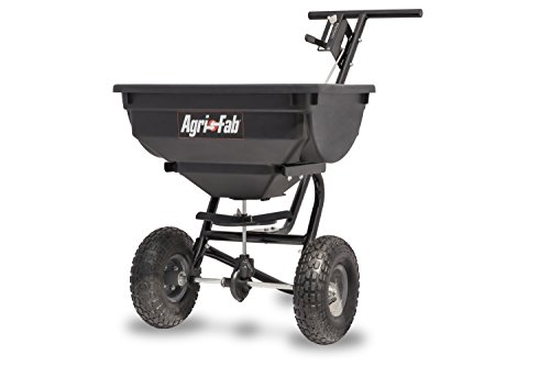 Agri-Fab 45-0532 Pro Push Spreader, 85 lb, Black