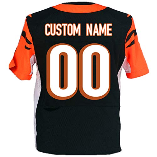 Custom Football Jerseys Design Your Own Personalized Jersey Stitched Any Team Name Number for Men&Women&Youth&Adult 7XL 20NEW (C_Bengal@)
