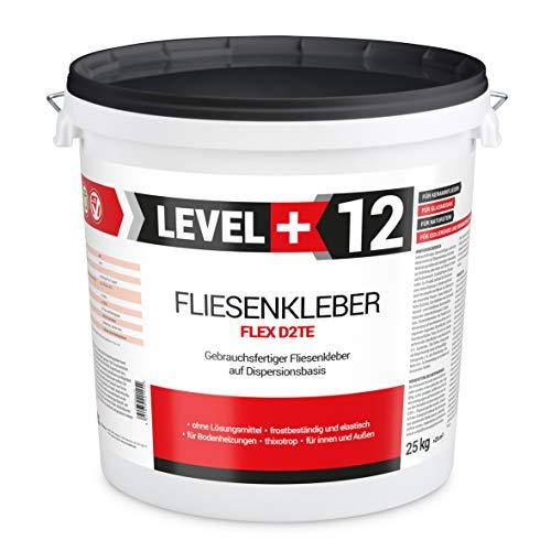 25 kg Fertig Fliesenkleber Steinkleber Flexmörtel Weiß Innen Außen Dispersions-Kleber RM12