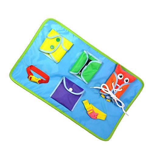 SUPVOX Aprendizaje de habilidades básicas para la vida Juguete educativo Aprende a vestir juguetes para niños de Quiet Book