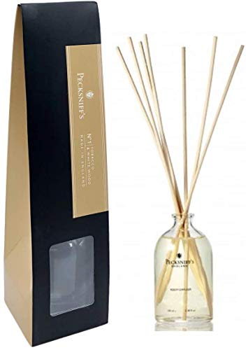 Pecksniffs England Tobacco & White Wood Wood Fragrant Room Diffuser 3.3 Fl.Oz. From England