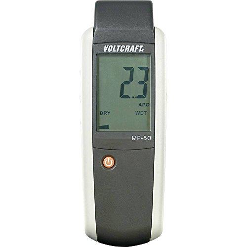 VOLTCRAFT MF-50 Materialfeuchtemessgerät Messbereich Baufeuchtigkeit (Bereich) 0 bis 100{978a803eb2c49a2eb2a8d3a97feaf2af6ffbd8b4384fbd9bbe9a166bb568516e} vol Messbereich Holzfeuchtig