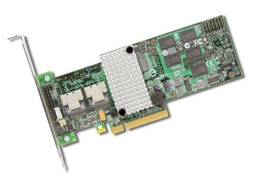 LSIロジック MegaRAID PCI Express対応 内部8ポート 6Gb/s SATA+SAS RAIDコントローラー(LSI00202) MegaRAID SAS9260-8i KIT