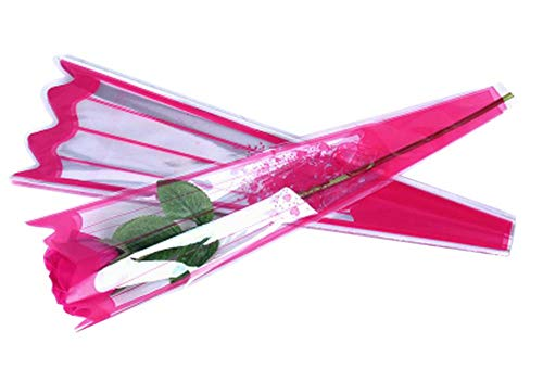 100 pcs unique rose sacs d'emballage bouquet de fleurs sacs d'emballage #41