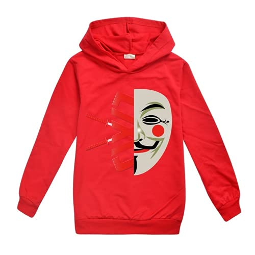Spy Ninjas Hoodies Kids Camiseta de manga larga CWC Merch, 12, 110 cm
