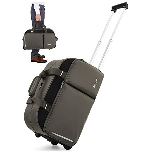 Gonex Rolling Duffle Bag with Wheels $35.16 (56% Off)