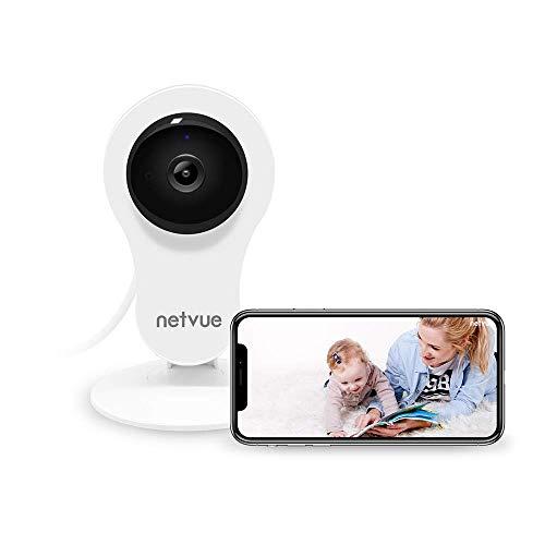 Camara Vigilancia WiFi Interior 1080P NetVue, Compatible con Alexa