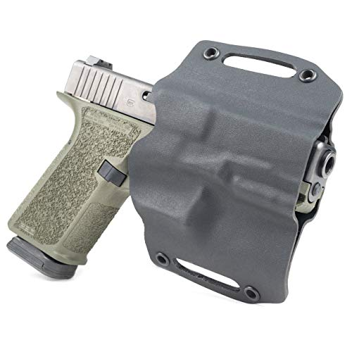 Infused Kydex USA Black OWB Holster (Right-Hand