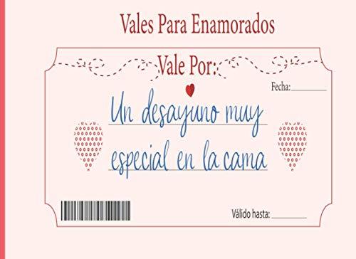 Vales para enamorados: Vales románticos en blanco,Talonario 80 vales románticos para personalizar,Talonario para parejas, Cupones de regalo romántico ... Valentín, aniversario, cumpleaños, Navidad