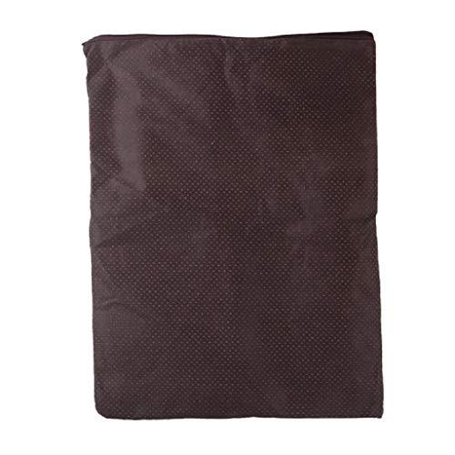 Ydh - Alfombra de perro de material caja fuerte, colchón, colchón, colchón, colchón, tamaño de tela para alfombra para dog, colchón para dormir grande, tamaño 12 pulgadas