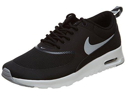 Nike Air Max Thea, Damen Sneakers, Schwarz (Black/Wolf Grey-Anthracite-White), 37.5