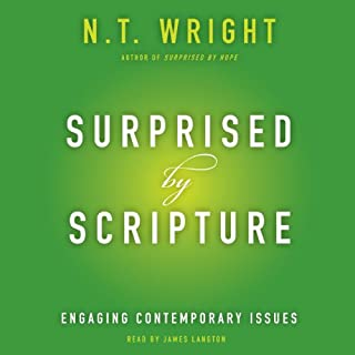 Surprised by Scripture audiobook cover art