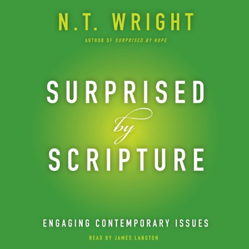 Surprised by Scripture cover art