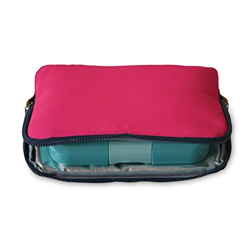 Yumbox Poche - Slim Insulated Sleeve Lunch bag (Magenta)