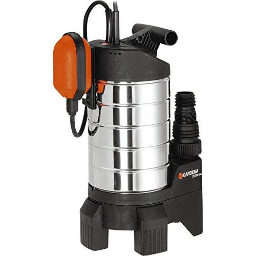 Gardena 1802-20 inox Premium Bomba sumergible de aguas sucias hasta 20000 l/h
