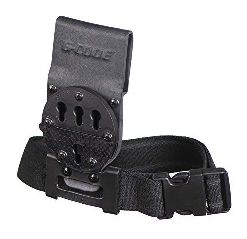 G-CODE Optimal Drop Pistol Platform-GCA200- (RTI with Leg Strap/Plastic Buckle) (Black) 100% Made in The USA