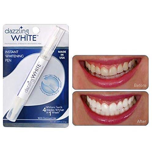Amazon Com Dazzling White Instant Teeth Whitening Pen 4 Shades