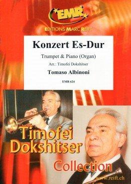 Tomaso Albinoni-Konzert Es-Dur-Trompete und Orgel-BOOK