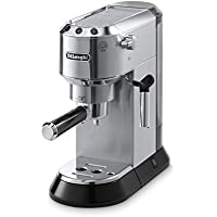 Delonghi EC680M Dedica 15-Bar Pump Espresso Machine (Stainless Steel)