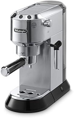 Máquina de espresso de 15 bares, DeLonghi Dedica, Acero inoxidable