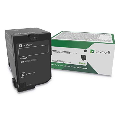Lexmark High Yield Black Return Program Toner Cartridge for US Government, 20000 Yield (74C0HKG)