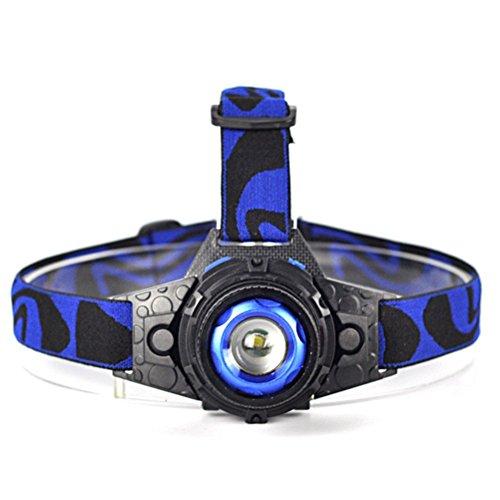 Yurroad CREE Q5 Lampe frontale rechargeable étanche Jogging Course à Pied enfants lampe frontale lampe torche LED (inclus batterie, chargeur)