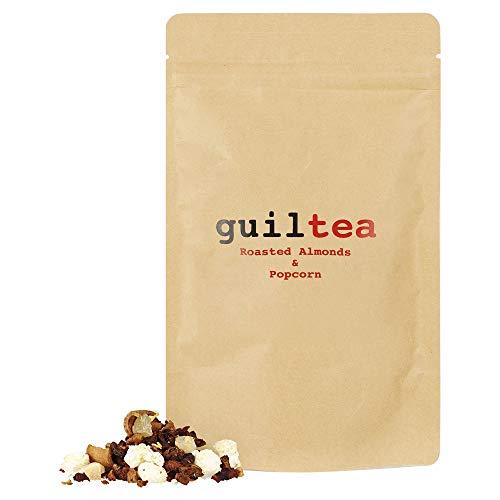 guiltea 100g Früchtetee mit dem Geschmack gebrannter Mandeln und mit Popcorn I Loser Tee