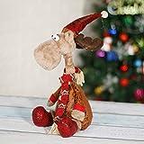 """CQ&WL Weihnachtsschmuck Weihnachtselch Stofftier Weihnachtsfigur 15.7""""/ 40cm -"""
