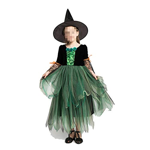 Halloween kostuum, Halloween Cosplay kostuum Halloween Cosplay Horror kostuum, Halloween kostuum kinderen heksenkostuum heksen jurken met hoeden