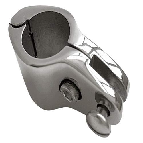 Injoyo 22mm Hochwertige Rohrklemme Rohrschelle Rohrclip für Boot Bimini-Top, Langlebig
