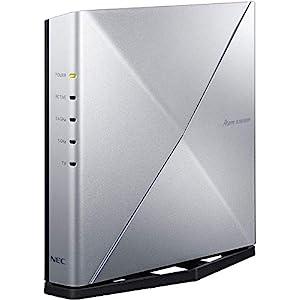 """NEC Atermシリーズ AX6000HP [無線LANルーター/実効スループット約4040Mbps] 親機単体 (Wi-Fi 6対応) 搭載..."""""""