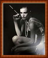 ポスター ピーター リンドバーグ VISIONAIRE(ヴィジョネアー)ディアナ・ドンドー KitKatClub 額装品 ウッドハイグレードフレーム(ナチュラル)