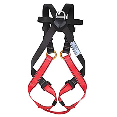 NewDoar Climbing Harness Full Body Harness for Amusement Park & Rock Climbing Expedition